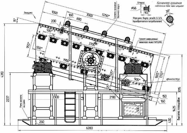 Характеристики грохота гит-52м дробилка смд 111 в Северск