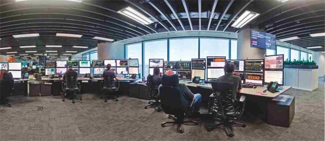 Эволюционный трамплин для горной отрасли автоматизация как способ  Контрольный центр bhp billiton в Перте Австралия источник itnews