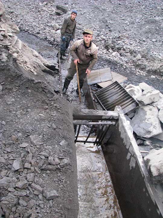 Проходнушка для промывки золота своими руками