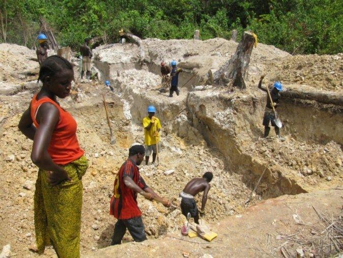 Непромышленная добыча золота в Африке обеспечивает заработок миллионам  людей / Непромышленная золотодобыча / ЗОЛОТОДОБЫЧА. Добыча золота,  технологии, оборудование