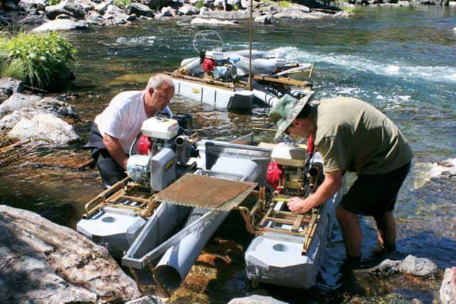 технология добычи золота в ручную таштагольский район
